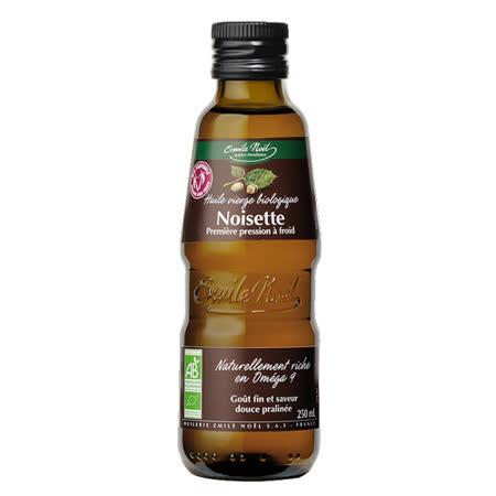 即期品★買一送一★【法國艾米爾諾耶】100%有機冷壓初榨榛果油