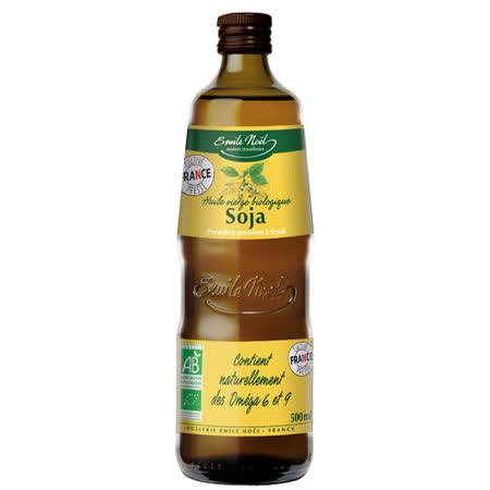 ★買一送一★【法國艾米爾諾耶】100%有機冷壓初榨黃豆油