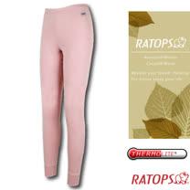 【瑞多仕-RATOPS】女款 Thermolite 保暖長褲.衛生褲_DB5087 淺粉紅