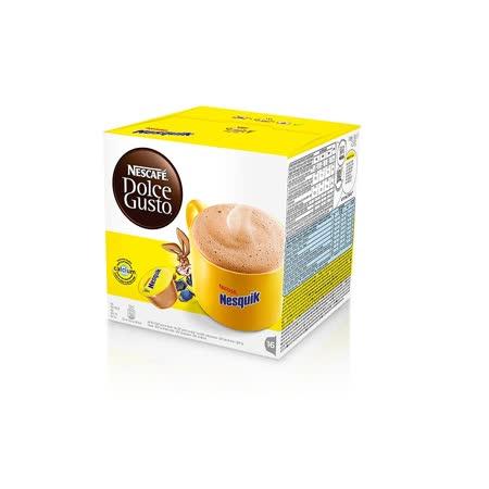 雀巢 NESCAFE Dolce Gusto  高鈣巧克力飲品膠囊(NESQUIK)(單盒入,共16顆)
