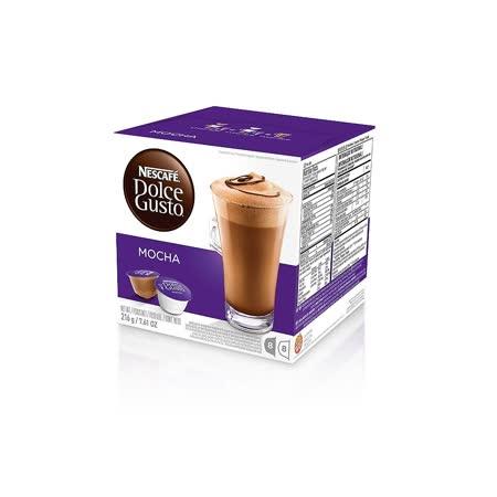 雀巢 NESCAFE DOLCE GUSTO 摩卡口味咖啡膠囊(Mocha)(單盒入,共16顆)