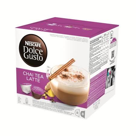 雀巢 NESCAFE DOLCE GUSTO 印度茶拿鐵膠囊(Chai Tea Latte )(單盒入,共16顆)
