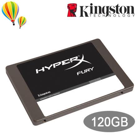 Kingston 金士頓 HyperX FURY 120GB SSD 固態硬碟 SHFS37A/120G