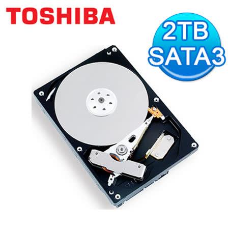 Toshiba 東芝 3.5吋 2TB SATA3 內接硬碟 (DT01ACA200)