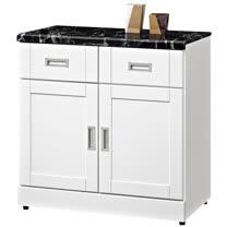HAPPYHOME 艾菲爾2.7尺石面碗盤櫃UZ6-360-5-兩色可選