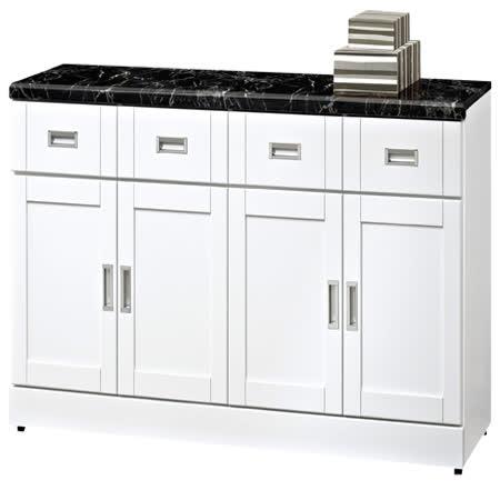 HAPPYHOME 艾菲爾5.3尺石面碗盤櫃UZ6-360-7-兩色可選