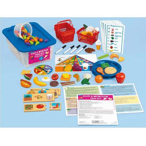 華森葳兒童教玩具 語文教具系列-主題教學1-食物和營養 N8-FF968