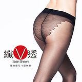 蒂巴蕾纖v透全透明彈性絲襪