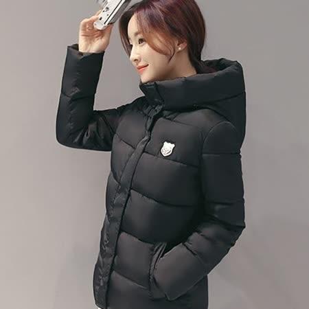 【Stoney.ax】韓版3D修身保暖羽絨棉休閒外套-果綠色