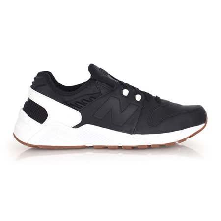 (男) NEWBALANCE 009系列 復古休閒鞋- NB N字鞋 黑白