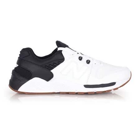 (男) NEWBALANCE 009系列 復古休閒鞋- NB N字鞋 白黑