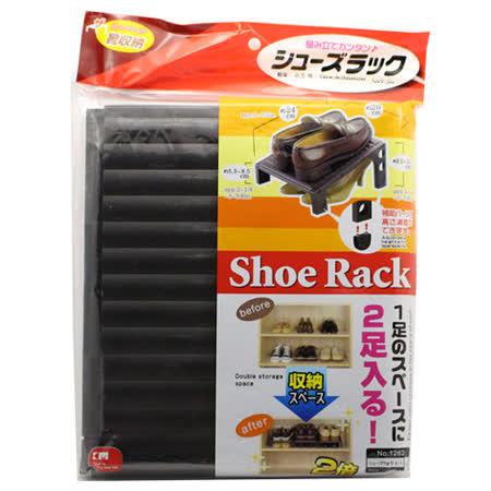 可調式鞋架收納鞋架(3入組)(顏色隨機)