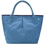 agnes b.  水藍色點點內裡水餃包(大/日本款)