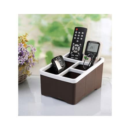 多用途遙控器收納盒/桌面整理盒/筆筒(兩入組)