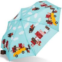 【rainstory】Super Dog(綠)抗UV隨身自動傘
