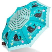 【rainstory】熱力鯨魚抗UV隨身自動傘
