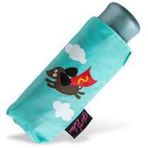 【rainstory】Super Dog(綠)抗UV迷你口袋傘