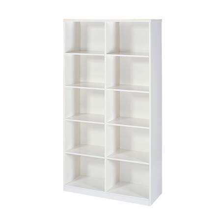 Bernice - 十格開放式防潮防蛀塑鋼書櫃(六色可選)