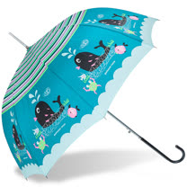【rainstory】熱力鯨魚抗UV自動開直骨傘