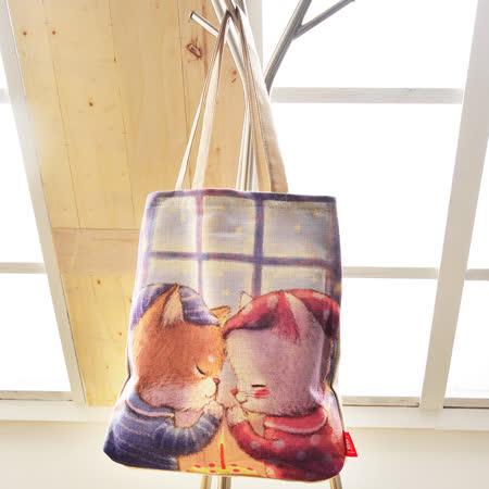 義大利Fancy Belle X DreamfulCat《感恩節》麻織購物袋