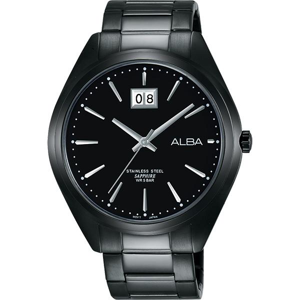 ALBA PRESTIGE 日系純粹 腕錶~鍍黑42mm VJ76~X033SD^(AQ5