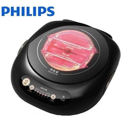 【PHILIPS飛利浦】黑晶爐星燦黑HD4988+萬用鍋
