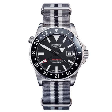 【私心大推】gohappy快樂購DAVOSA GMT雙時區飛越太空錶限量套裝組 No:091評價如何新竹 愛 買 營業 時間