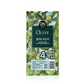 ON THE BODY橄欖賦活香皂90g*4