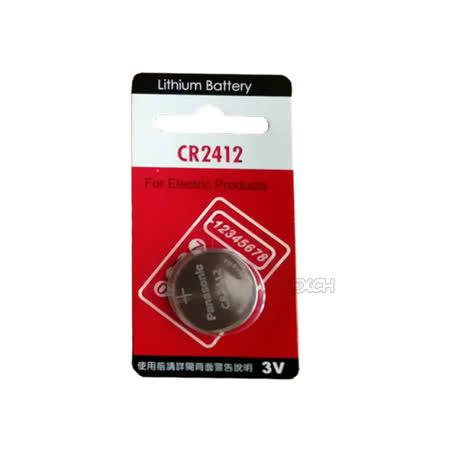 Panasonic 國際牌 CR2412 鈕扣型水銀電池(一組兩入)