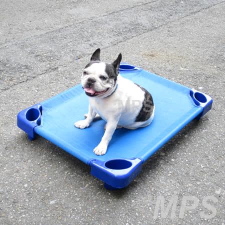【台灣製造】寵物用 睡床/寵物床/地板床《約82 x 57 x 11.5  cm 》