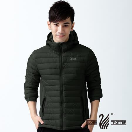 【遊遍天下】中性款JIS90%羽絨輕暖修身防風防潑水羽絨外套A058黑色