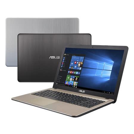 【ASUS華碩】X540SA 15.6吋 N3710 4G記憶體 500G硬碟 大螢幕超值文書筆電(黑/銀)