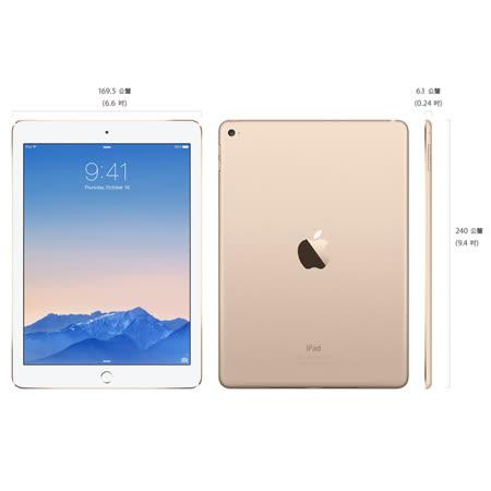 Apple iPad Air2 Wi-Fi 128G 金 平板電腦(MH1J2TA/A)(原廠公司貨)