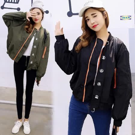 【韓國KW】原宿風簡約短版外套