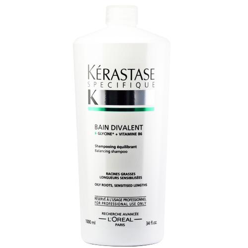 KERASTASE卡詩 胺基酸平衡髮浴(油性頭皮乾性頭髮髮浴)1000ml