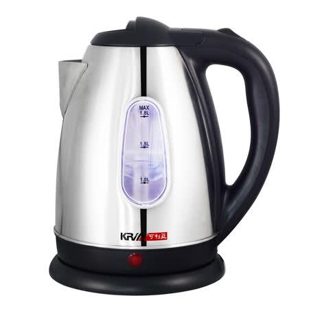 KRIA可利亞 2公升分離式304#不鏽鋼電水壺/快煮壺 KR-387