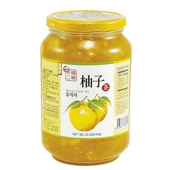 韓味不二生黃金柚子茶(果醬)1kg