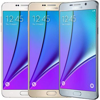 Samsung Galaxy Note 5 32G 智慧旗艦機贈原廠無線閃電充電板+玻璃貼+透明保護套+車充+傳輸線 N9208