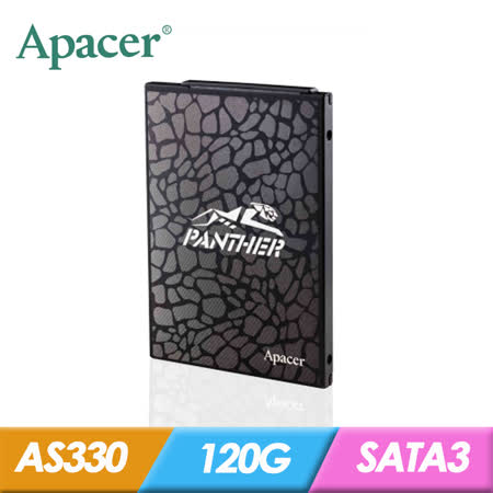 Apacer 宇瞻 AS330 120G SATA3  SSD 固態硬碟