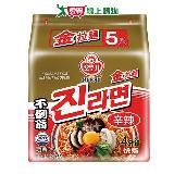 韓國不倒翁金拉麵(辛辣) 120g* 5