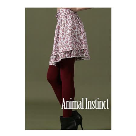 CHICA 甜甜豹紋飄逸美感短裙(共二色)-桃紫豹紋