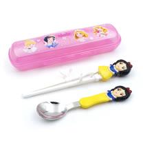 3D學習筷湯匙組-白雪公主(附盒)