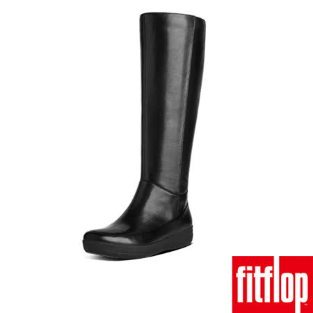 FitFlop™-(女款)FF-LUX™ KNEE BOOT-靚黑