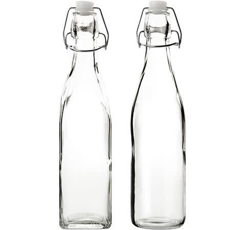 《IBILI》Kristall扣式密封玻璃瓶(500ml)