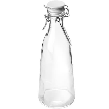 《IBILI》Kristall扣式密封玻璃瓶(1000ml)