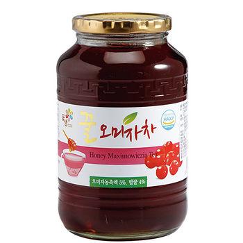 花泉蜂蜜五味子茶果醬1kg