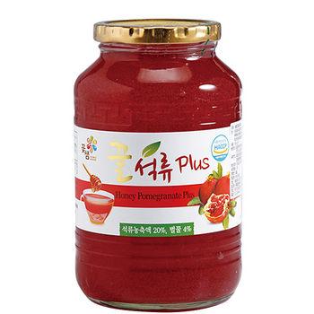 花泉蜂蜜石榴茶果醬1kg