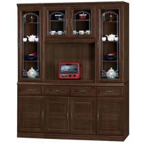 HAPPYHOME 義昇胡桃5.3尺碗櫥櫃組UZ6-379-5