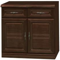 HAPPYHOME 義昇胡桃2.7尺碗櫥櫃UZ6-380-4