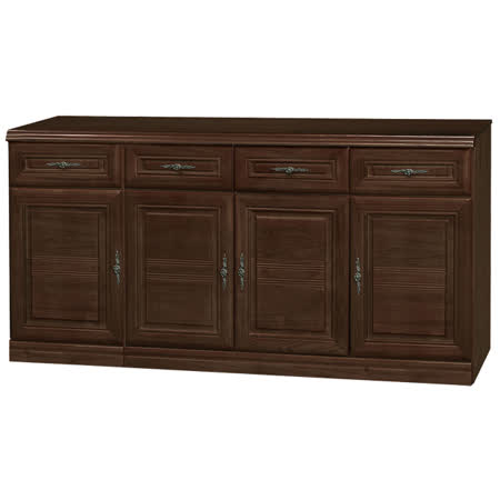 HAPPYHOME 義昇胡桃5.3尺碗櫥櫃UZ6-380-6
